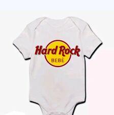 Body pagliaccetto neonato bimbo bebè Hard Rock Bebè, divertente personalizzabile