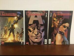 The ULTIMATES Marvel Comics