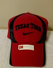 Texas Tech Nike Swoosh Flex Cap Red One Size Fit Most Brand New
