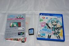 Hatsune Miku Project Diva F for Playstation Vita [Japan Import] Complete CIB