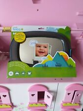 Munchkin Brica Mega Baby In-Sight Clear-Sight Car Mirror | New Shatter Resistant