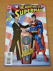 Adventures of Superman #586 ~ VERY FINE - NEAR MINT NM ~ 2001 DC Comics