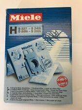 NIP Genuine Miele H Vacuum Cleaner Dust Bags 5 filters + 1 super air filter