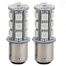 2 Lampara Bombilla 18 LED 5050 SMD Freno Rojo 3.5W Coche H4H2