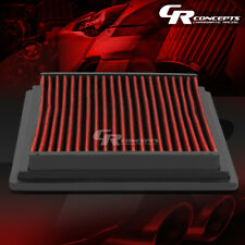 RED WASHABLE HIGH FLOW AIR FILTER PANEL FOR 98-11 FORD RANGER 97-05 EXPLORER