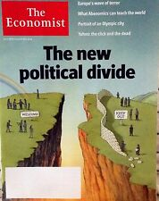 The Economist July 30- Aug 5 2016 Magazine Terror in Europe Political Divide Rio