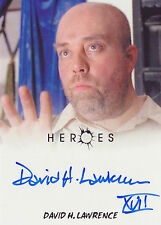 Heroes Archives David H Lawrence Autograph Card