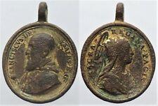 Médaille religieuse XVIIè / XVIIIè à déterminer