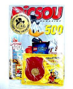 Picsou Magazine n°500 Sou Fétiche sous blister Collector