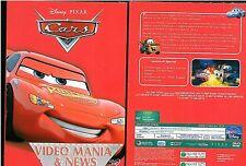 CARS MOTORI RUGGENTI DISNEY DVD ANIMAZIONE EDIZIONE CARTONATA (SLIP COVER)