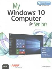 MY WINDOWS 10 COMPUTER FOR SENIORS (97807897546 - MICHAEL MILLER (PAPERBACK) NEW