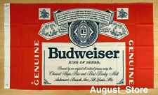 Budweiser Beer Flag 3x5 ft Banner Bud