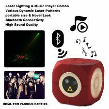 USB Bühnenlicht Bluetooth Disco Musikbox Laserlicht Lautsprecher DJ Club Party