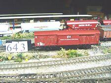 OO Hornby 4 whl van     (643)