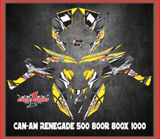Can-Am Renegade 500 800r 800x 1000  SEMI CUSTOM GRAPHICS KIT Detox2