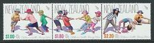 "NEW ZEALAND 2016 HEALTH STAMPS ""BEING ACTIVE""  UNMOUNTED MINT  STRIP OF 3"