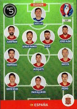 Spain Football Trading Cards Euro 2016 Event