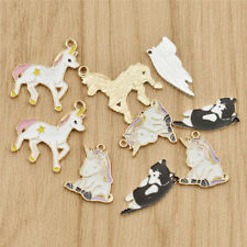 DIY Alloy Lovely Cat Horse Charms Pendants Jewellery Finding Making Accessories