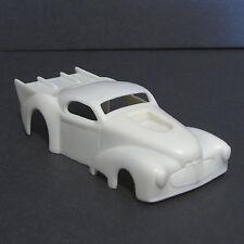 JF HO 1941 Chevy Pro Mod Resin Slot Car Body - Fits 4 Gear  #48