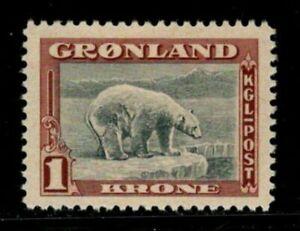 ES-13421  GREENLAND SCOTT 16 MINT HINGED $18