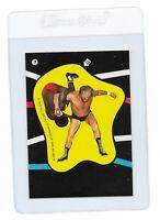 RENE GOULET & SD JONES 1985 TOPPS WWF Wrestling STICKER Trading CARD #18 Titan