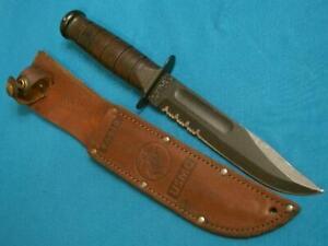 VINTAGE KA-BAR MK2 MARK2 USMC COMBAT FIGHTING SURVIVAL BOWIE KNIFE KABAR KNIVES