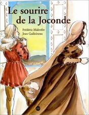 Le Sourire de la Joconde The Mona Lisa Smile  CHILDREN'S ART BOOK IN FRENCH NEW