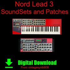 Download Clavia Nord Lead 3 and rack Synthesizer SoundSets and Patch COLLECTION
