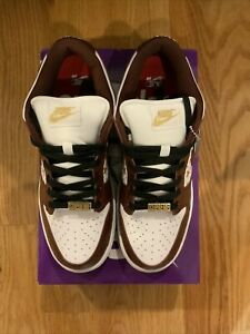 Supreme/Nike SB Dunk Low Barkroot Brown SS21 Size 9.5 IN HAND