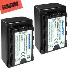BM Premium 2-Pack for Panasonic AG-3DA1, AG-AC8, AG-AC30, AG-DVX200MC