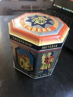 Bauhaus German Haeberlein-Metzger Gingerbread Cookie Tin Can Box ~Famous Artists