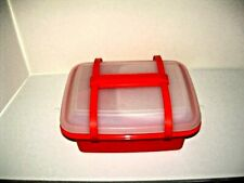 VINTAGE TUPPERWARE PACK N' CARRY LUNCH BOX CONTAINER #1254 11PCS NEW UNUSED