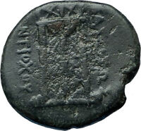 ANTIOCHOS III Megas Authentic Ancient 222BC Seleukid RARE R2 Greek Coin i68045