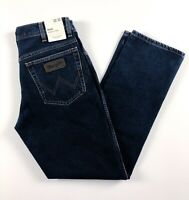 Wrangler Jeans Men's Texas Original Straight Fit Blue Black W12104001