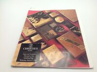 Christie's East Auction Catalog Asian Decorative Arts Rugs March 27 1996 NY