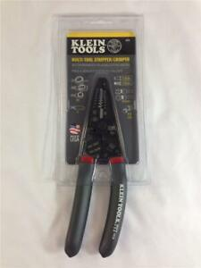 Klein Tools 1019 Multi-Tool Stripper / Crimper - Made in the USA - Brand New!!!