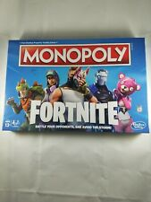 New! MONOPOLY FORTNITE Board Game Parker Bros 2-7 Players Ages 13+ Gift Idea