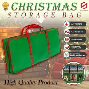 Large Gift Wrap Xmas Tree Christmas Decoration Tidy Storage Bag Organizer Green