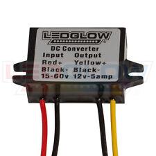 LEDGlow Golf Cart Voltage Reducer Converter 36v & 48v to 12v 5amp LU-GC-Reducer