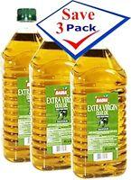 Badia Extra Virgin Olive Oil 2 liters 67.7 oz Pack of 3