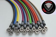 Front &rear CP Racetec Braided Brake Hoses Citroen DS3  Racing Only, BREMBO