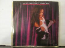 "Dead or Alive-That's the Way(I Like It)c/w Keep the Body Strong-7""- Free UK Post"