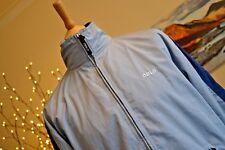 """ODLO vintage veste de ski rétro léger bleu clair femme SZ LM 46"""" tour de poitrine"""