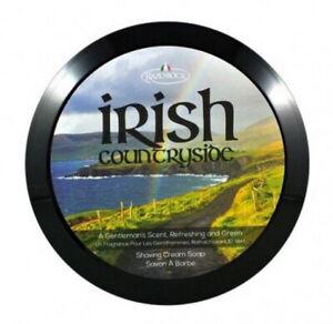 Irish Countryside Shaving RAZOROCK Italy Tallow Shea Butter Argan Oil Aloe Vera