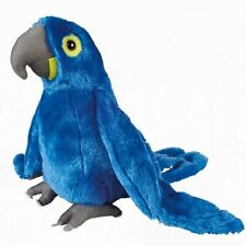 30cm Hyacinth Macaw Blue Parrot Soft Cuddly Toy - Christmas Gift Idea