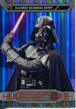 Star Wars Chrome Perspectives Gold Refractor Parallel Base #26R Darth Vader