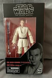 "STAR WARS,THE BLACK SERIES 6"" INCH -No 85,Obi-Wan Kenobi Padawan,Figure,New!"
