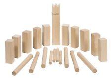Kleines Kubb Spiel, Holz, ideal für die Reise/Urlaub