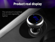 Dual USB Car Charger Bluetooth Wireless FM Transmitter for iPhone 7 Plus HTC 20