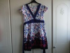 Oasis Pretty Flower Print Dress Size 10